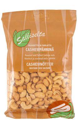 Cashewpähkinä paahdettu ja suolattu 350g