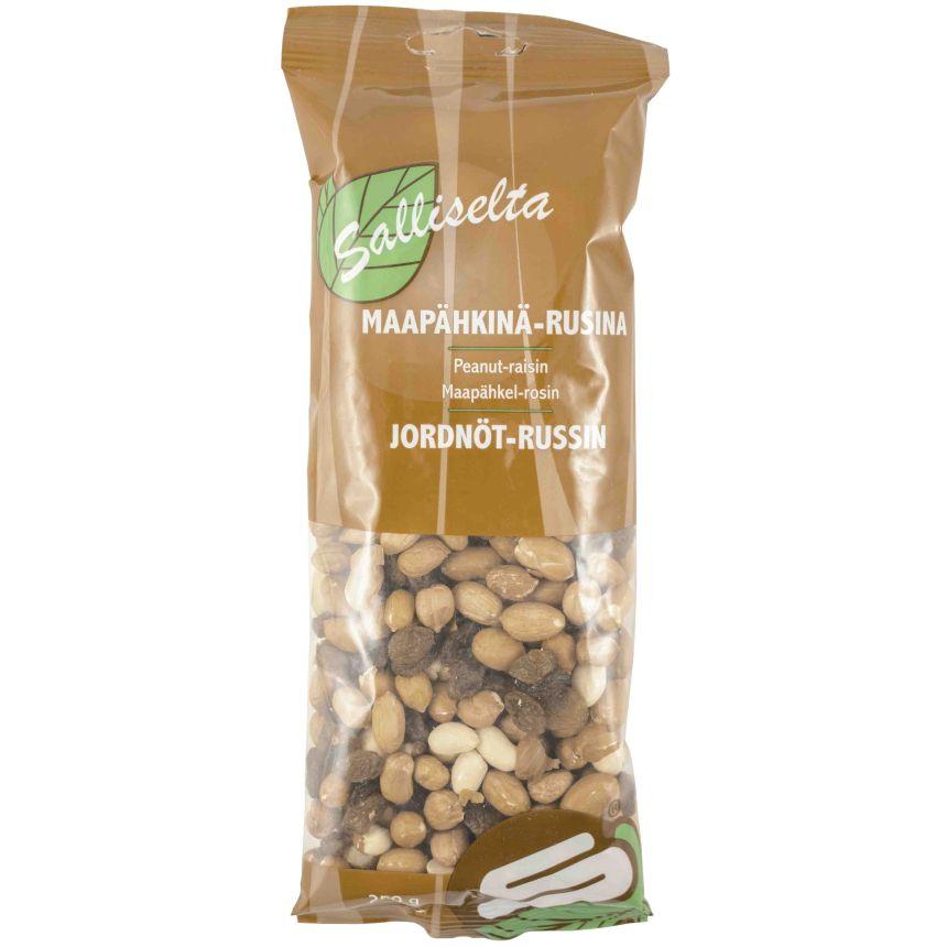 Maapähkinä-Rusinasekoitus 250g