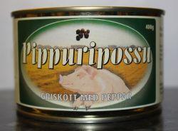 Rantalan täyslihasäilyke: Pippuripossu